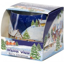 "Scented Candle ""Winter View"""