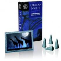 "Incense Cones ""African Night"""