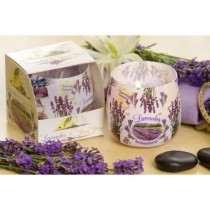 "Scented Candle ""Lavender Romance"""